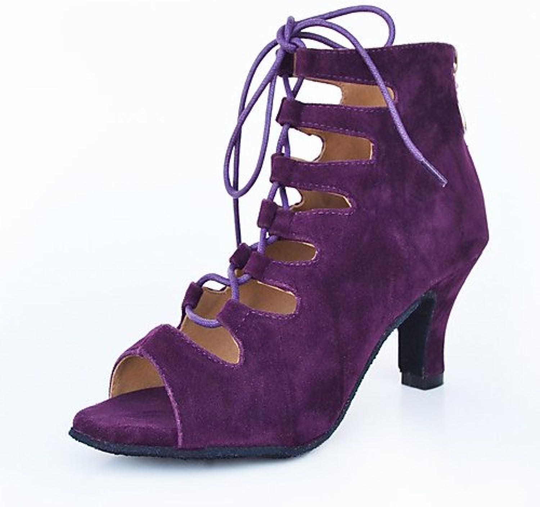 3d7c381fb65c7b les souliers de danse moderne t.t-q baskets baskets baskets chunky talon  rouge en sandales salsa swing jazz tango latino de pratique...b07dly4zf8  mère | Une ...
