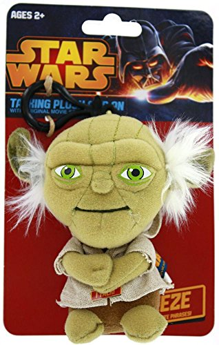 Underground Toys Star Wars Talking Yoda 4 Plush