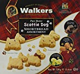 Walkers'Scottie Dog'Shortbread Assortment, 1er Pack (1 x 330 g)