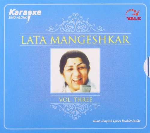 Karaoke Sing Along Lata Mangeshkar Vol 3 ( with Hindi/english Lyrics Booklet Inside) Cd