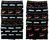 10er Pack tolle Mikrofaser Kinder Jungen Boxershorts in der Größe 134-176 (152-158)