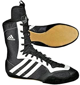 adidas TYGUN II Chaussures de boxe Noir black / running white hommes UK 6.5, FR 40