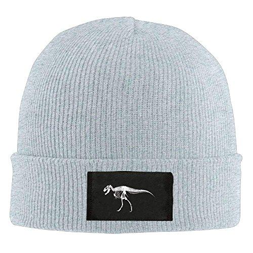 (Dinosaur Skeleton Unisex Fashion Adult Retro Warm Winter Cap Daily Beanie Hats)