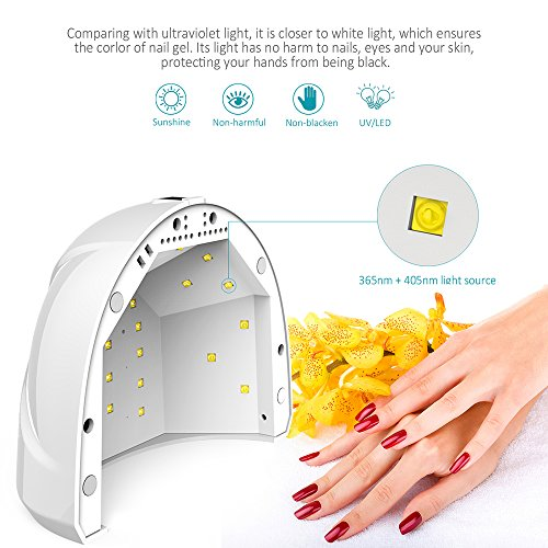 LED UV Lichthärtungsgerät Timer für alle Gele - 5