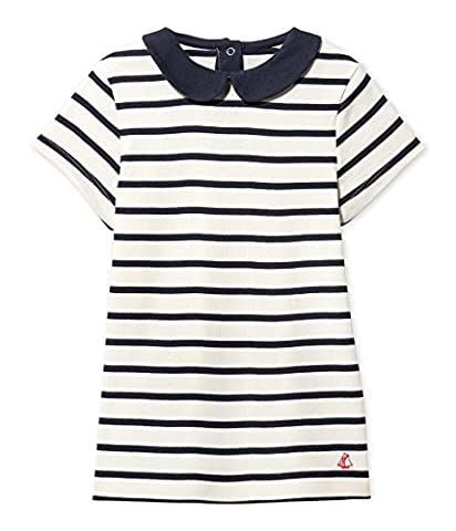 Petit Bateau Girl's Fedia T-Shirt, Multicoloured (Coquille/Smoking), 6 Years