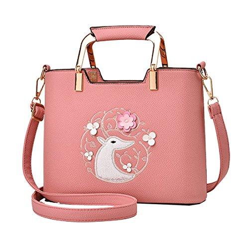Yy.f Neue Tragbare Diagonale Handtaschen Damen-Schultertaschen Handtaschen Geldbörsen Anzug Taschen. Multicolor White