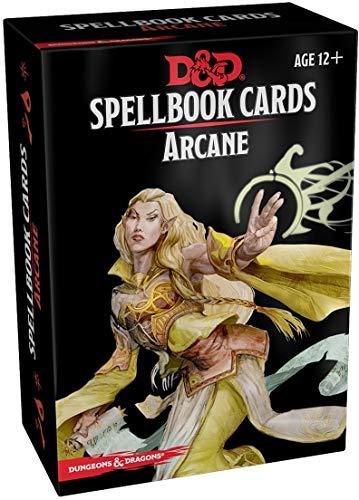 Spellbook Cards Arcane