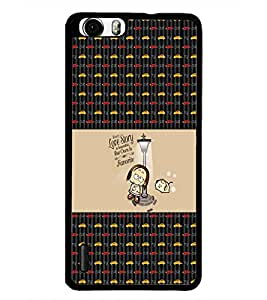 PrintDhaba Quote D-5641 Back Case Cover for HUAWEI HONOR 6 (Multi-Coloured)