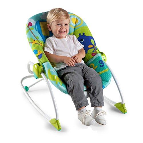 Bright Starts, Wippe für Babies und Kleinkinder, Merry Sunshine