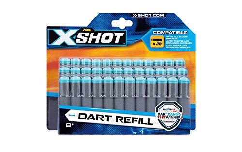 Grandi Giochi X-Shot Excel Dardi refill 36 pezzi GG-46024