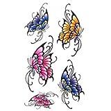 SPESTYLE wasserdicht ungiftig temporäre Tätowierung stickersWaterproof Temp -Tattoos für Frauen