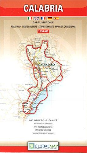 Calabria 1:250.000 (Carte stradali regionali)