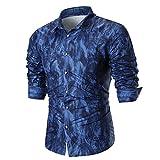 Herren Hemd feiXIANG Männer gedruckt Hemd Polo Shirt Streetwear Mode Shirt Bluse