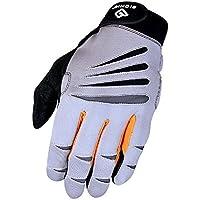 Preisvergleich für Bionic Glove Herren Handschuhe Crosstraining Full Finger W/für Technologie, Grau/Orange (Paar)