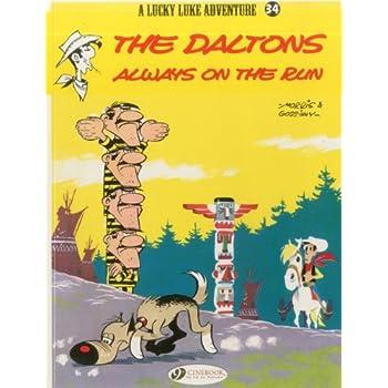 Lucky Luke - tome 34 The Daltons always on the run (34)