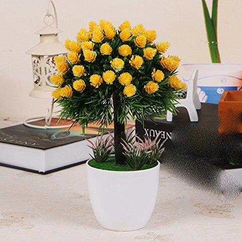 dsaaa-kunstliche-blumen-topfpflanzen-bonsai-hauptdekor-baum-blumen-rasen-kugelgelb