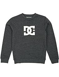 DC Sweatshirts - DC Star Crew Sweatshirt - Heather Charcoal