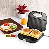 Cello Super Club 800-Watt Toast N Grill Sandwich Maker (Silver Black)