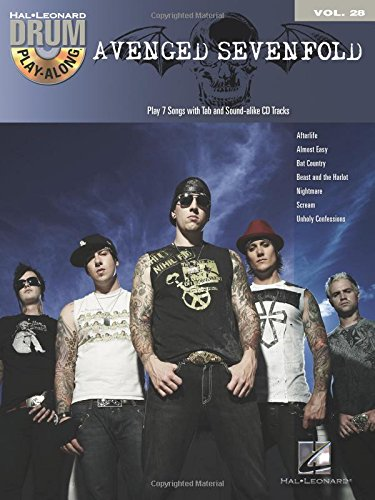 Avenged sevenfold batterie+CD: 28 (Drum Play-Along)