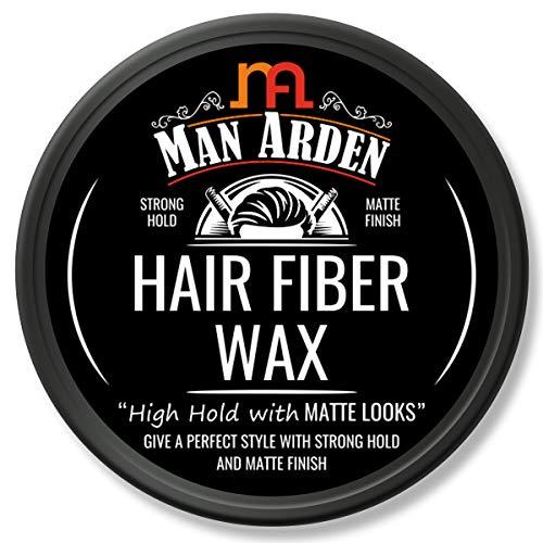 Man Arden Hair Fiber Wax - Strong Hold with Matte Finish - 50gm