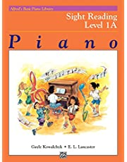 Alfred's Basic Piano Course: Sight Reading Book 1A (Alfred's Basic Piano Library)