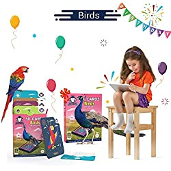Birds | Age 3-10 Years | Educational Learning Games for Kids | Augmented and Virtual Reality Based Flash Cards | Puzzles