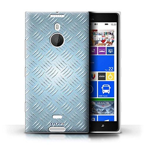 Kobalt® Imprimé Etui / Coque pour Nokia Lumia 1520 / Or conception / Série Motif en Métal en Relief Bleu