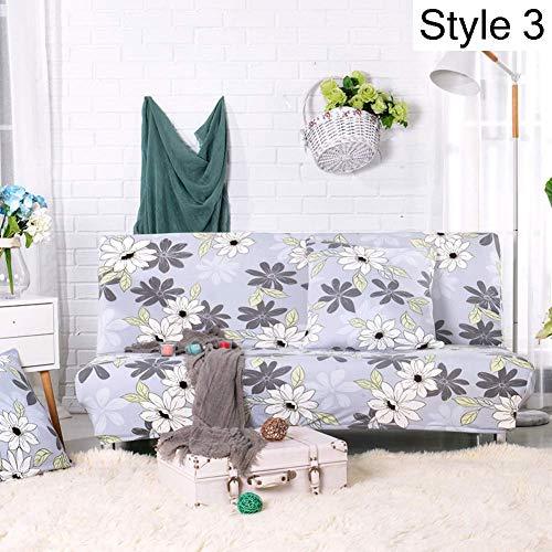KongEU Funda elástica para sofá o Cama, diseño de Flores, para sofá,...