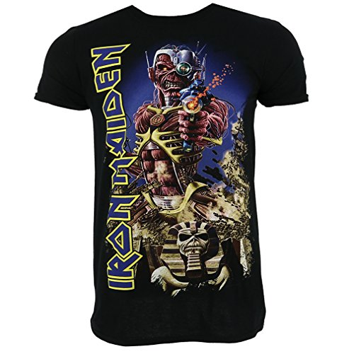 Iron Maiden Somewhere Back in Time Camiseta Oficial Con licencia Music