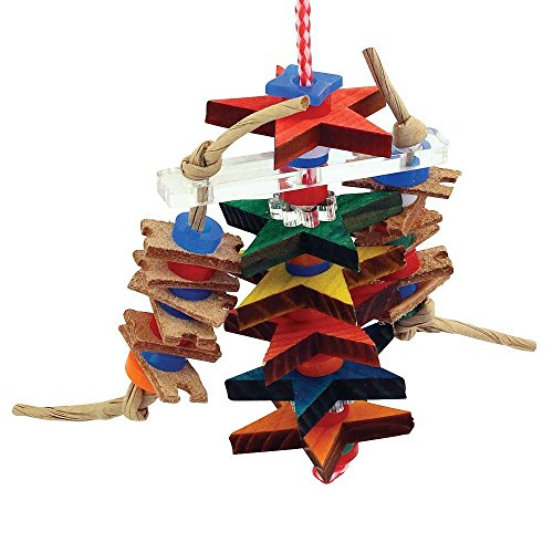 Zoo-Max Spielzeug für Vögel (Für Käfige Reise-vogel Papageien)