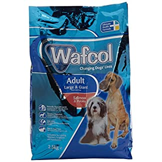 Wafcol Adult Sensitive Dog Food - Salmon & Potato - Grain Free Dog Food for Large and Giant Breeds - 12 kg Pack 16