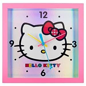 Hello Kitty Wall Clock - Pink