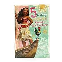 UK Greetings - Disney Moana 5th Birthday Card