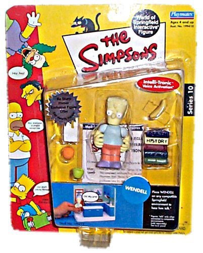 The Simpsons Interactive Figure: Wendell by Playmates 1