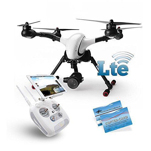 Walkera Voyager 4 4G LTE Version mit 18x optischer Zoom HD Kamera DEVOF8W WiFi RTF Copter Card Vorbestellung