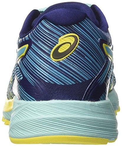 Asics Dynaflyte, Chaussures de Course Femme Bleu (Aquarium/sun/indigo Blue)