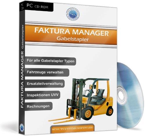 Faktura Manager Gabelstapler - Software für Werkstatt, Verwaltung, Reparaturen