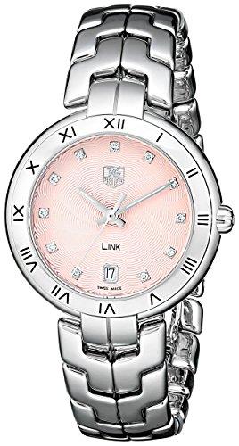 TAG Heuer reloj WAT1313. BA0956enlace analógico cuarzo plata para las mujeres