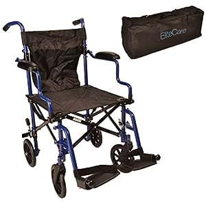leichte falten kompakten rollstuhl in einer tasche ectr05 drogerie k rperpflege. Black Bedroom Furniture Sets. Home Design Ideas