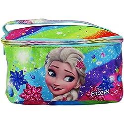 Disney Frozen Rainbow Beauty Case da Viaggio per Make Up per Ragazza Bambina Portatutto Idea Regalo