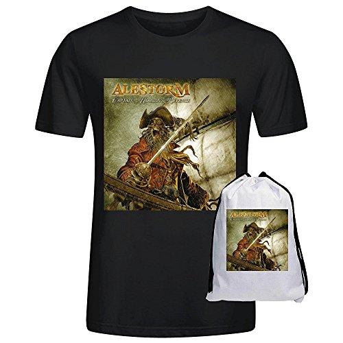 alestorm-captain-morgans-revenge-printed-t-shirts-for-men-crew-neck-xxx-large