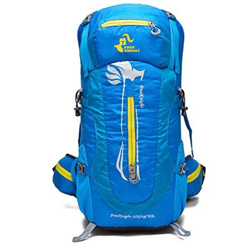 Bergsteigen Taschen Wasserdicht Nylon Ultraleichte Wander Blue