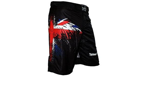 TurnerMAX MMA Shorts Eagle UK Flag Marital Art