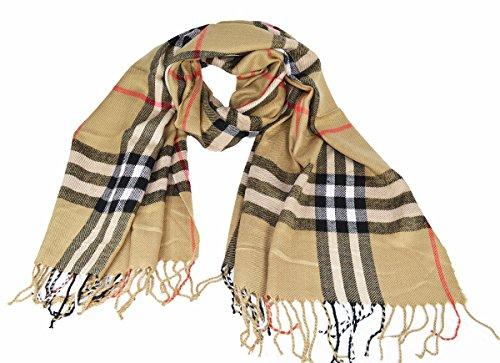 grande-suave-funda-compruebe-estilo-invierno-bufanda-de-cuadros-chal-beige-175-x-95-cm