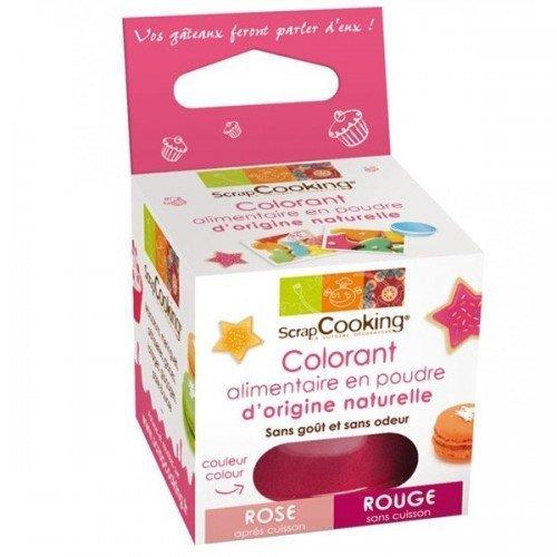 Colorante alimentare naturale rosa-rosso usato  Spedito ovunque in Italia