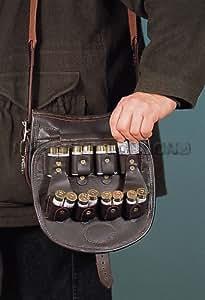 Shotgun loaders Bag DL Leather - Made to hold 125 12g shells comfortably