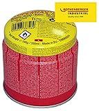 ROTHENBERGER Industrial C200 Supergas-Brenngas-Kartusche, hochreines Butan-Gasgemisch, 330 ml - 1500000924