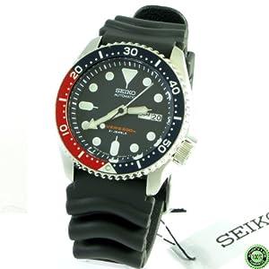 Seiko Caballeros Automático Divers SKX009J1 Reloj De Acero Inoxidable Fecha De Caso - HECHO EN JAPÓN de Seiko