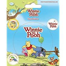 Winnie The Pooh - Puerquito, Ígor Y Winnie The Pooh Con Globo Vinilo Decorativo Pegatina Autoadhesivo (12 x 10cm)