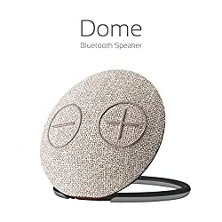 Portronics Dome Portable Bluetooth Speaker with Mic( Brown )